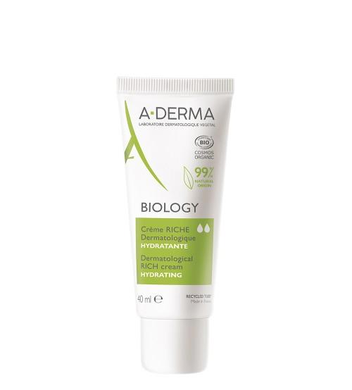 A-Derma Biology Creme Hidratante Rico 40ml