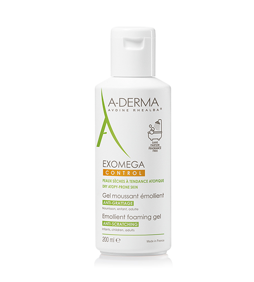 A-Derma Exomega Control Gel Lavante 200ml