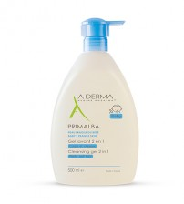 A-Derma Primalba Gel de Limpeza 2 em 1 500ml
