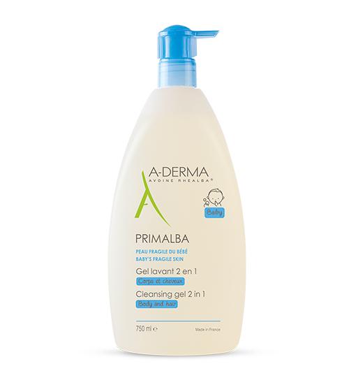 A-Derma Primalba Gel de Limpeza 2 em 1 750ml