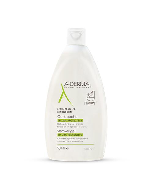 A-Derma Gel Duche Hidra Protetor 500ml