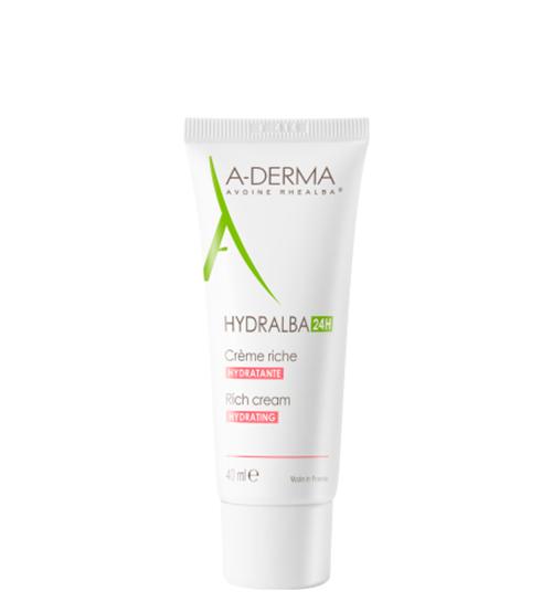 A-Derma Hydralba Creme Rico 40ml