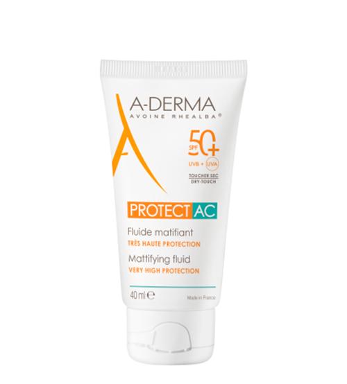 A-Derma Protect AC Fluido Matificante SPF50+ 40ml