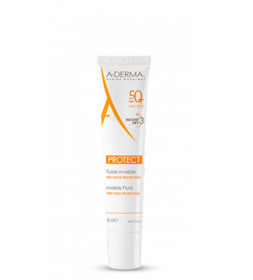 A-Derma Protect Fluido Invisível SPF50+ 40ml