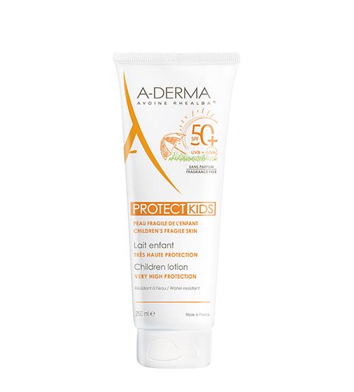 A-Derma Protect Leite Criança SPF50+ 250ml