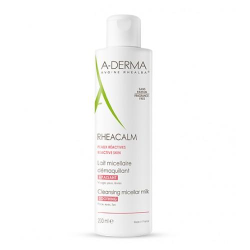 A-Derma Rheacalm Leite Micelar Calmante 200ml