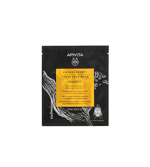 Apivita Express Beauty Máscara de Tecido Refirmante & Efeito Lifting Com Mástique 15ml