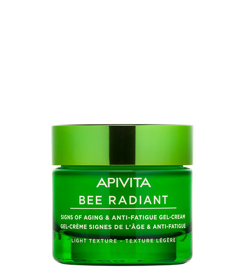 Apivita Bee Radiant Gel-Creme Sinais de Envelhecimento & Antifadiga Textura Ligeira 50ml
