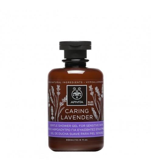 Apivita Caring Lavender Gel de Banho com Óleos Essenciais 250ml