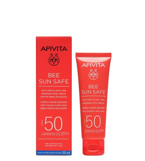 Apivita Bee Sun Safe Creme Antimanchas e Antienvelhecimento SPF50 50ml