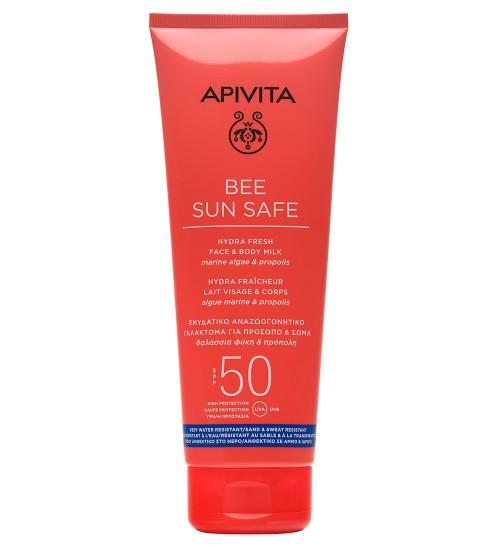 Apivita Bee Sun Safe Leite Rosto e Corpo SPF50 200ml