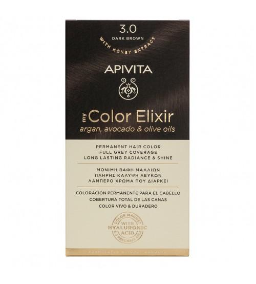 Apivita My Color Elixir 3.0 Castanho Escuro