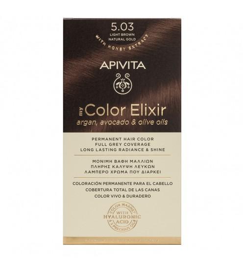 Apivita My Color Elixir 5.03 Ouro Natural Castanho Claro