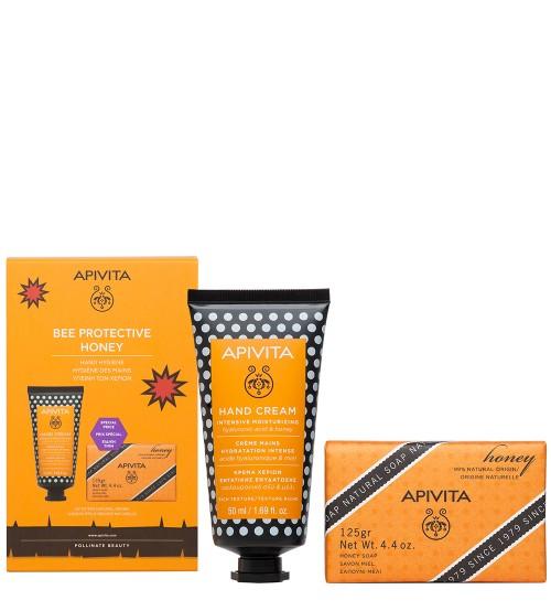 Apivita Bee Protective Honey Gift Set
