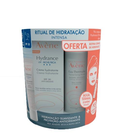 Avène Ritual de Hidratação Creme UV Rico