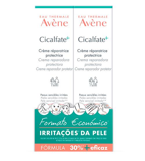 Avène Cicalfate+ Creme Reparador Protetor 2x100ml