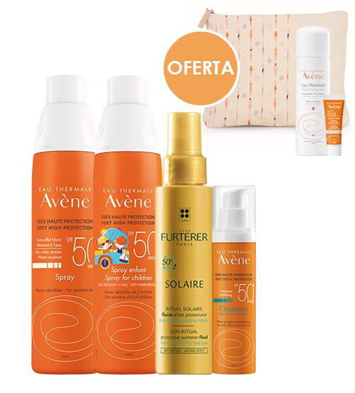 Avène + Rene Sunny Beauty Cleanance Family Protection