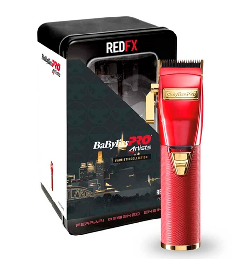 Babyliss Pro Red Ferrari Metal Clipper RedFx