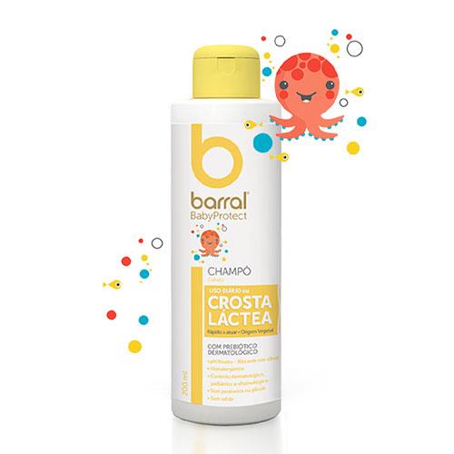 Barral BabyProtect Shampoo Crosta Láctea 200ml