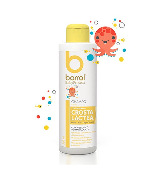 Barral BabyProtect Shampoo Crosta Láctea 200ml