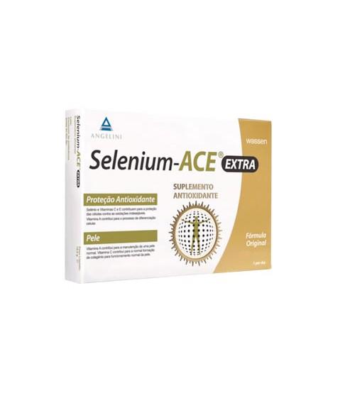 Selenium-ACE Extra Suplemento Antioxidante 30 Comprimidos