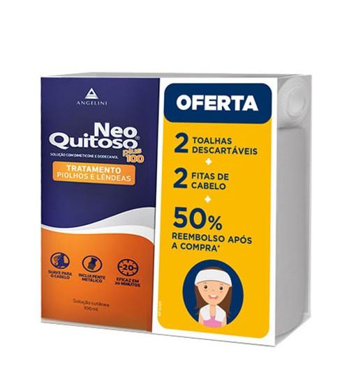 Neo Quitoso Plus 100ml + Toalha + Fita