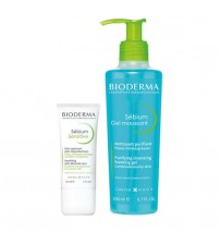 Bioderma Sébium Sensitive 30ml + Gel Moussant 200ml