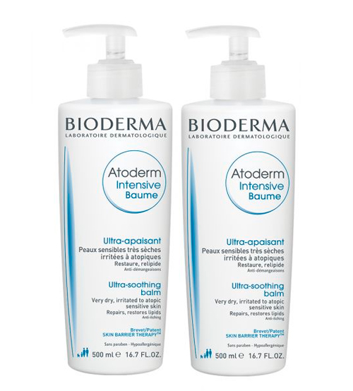 Bioderma Atoderm Intensive Baume 2x500ml