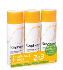 Ecophane Biorga Shampoo Fortificante 3x200ml