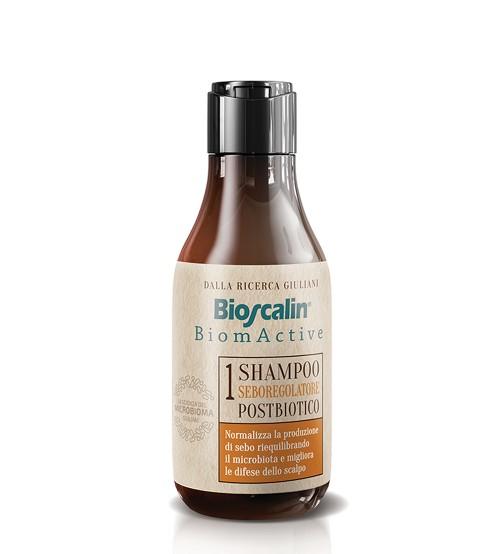 Bioscalin Biomactive Pós-Biótico Shampoo Seborregulador 200ml