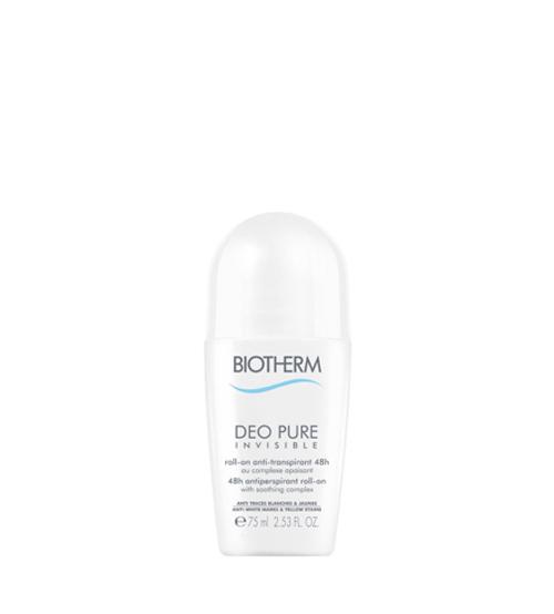 Biotherm Desodorizante Déo Pure Invisible Roll On 48H 75ml