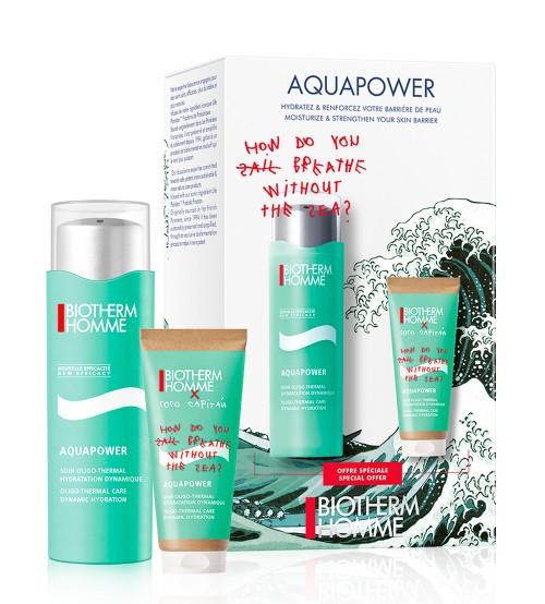 Biotherm Homme Aquapower Coffret Hidratação 75ml + 50ml