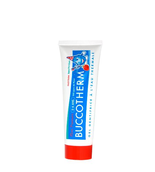 Buccotherm Dentífrico 2-6 Anos Morango 50ml