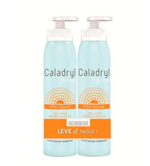 Caladryl Derma Pós-Solar Ice Gel Ultra Refrescante 150ml + OFERTA 150ml
