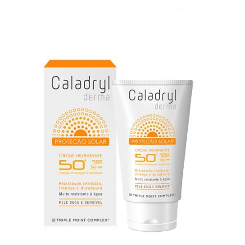 Caladryl Derma Proteção Solar Creme Hidratante FPS50+ 50ml