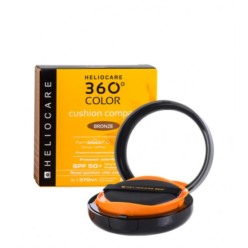 Heliocare 360º Color Cushion Compact Bronze SPF50+ 15g