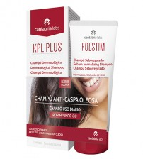 KPL Plus Shampoo Anti-Caspa e Anti-Seborreico 200ml + Folstim Shampoo Seboregulador 200ml