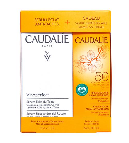 Caudalie Vinoperfect Sérum 30ml + OFERTA Creme Solar SPF50 25ml