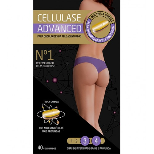 Cellulase Gold Advanced 40 Comprimidos