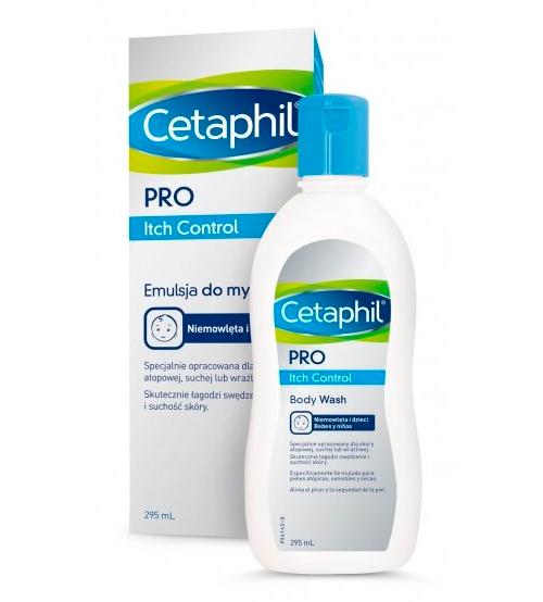 Cetaphil Pro Itch Control Sabonete Líquido Corporal Pele Atópica 295ml