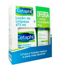 Cetaphil Loção de Limpeza 473ml + OFERTA Creme Hidratante 85g