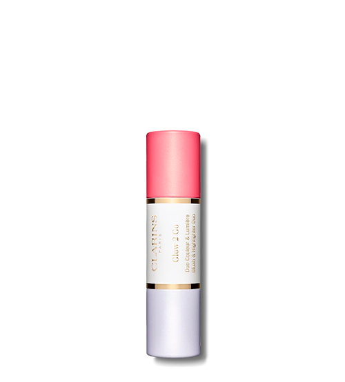 Clarins Glow 2 Go Blush & Highlighter Duo 01 Glowy Pink 2x4.5g