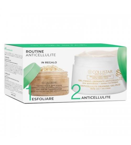 Collistar Coffret Anticellulite Draining Gel-Mud 400ml + Anti-Water Talasso 150g