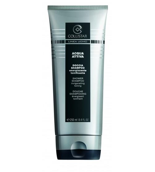 Collistar Uomo Acqua Attiva Body Wash Shampoo 100ml