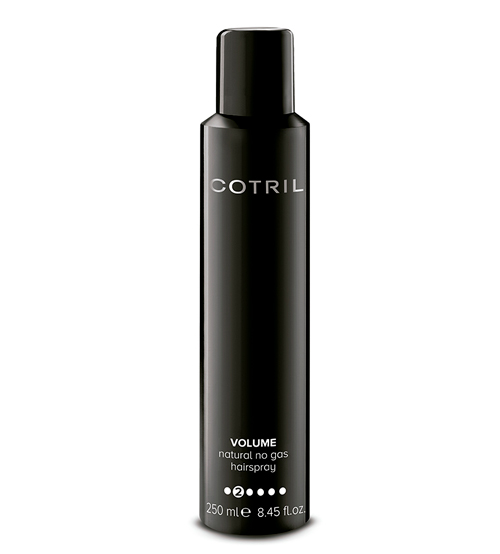 Cotril Volume Natural No Gas Hairspray 250ml