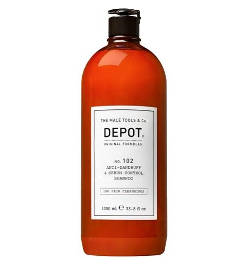 Depot Nº 102 Anti-Dandruff & Sebum Control Shampoo 1000ml