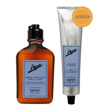 Depot Ape Refreshing Shampoo 250ml + OFERTA Styling Cream 125ml