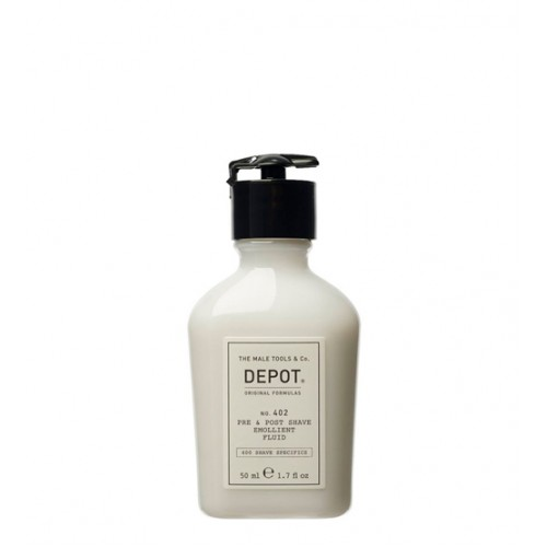 Depot Nº 402 Pre & Post Shave Emollient Fluid 50ml