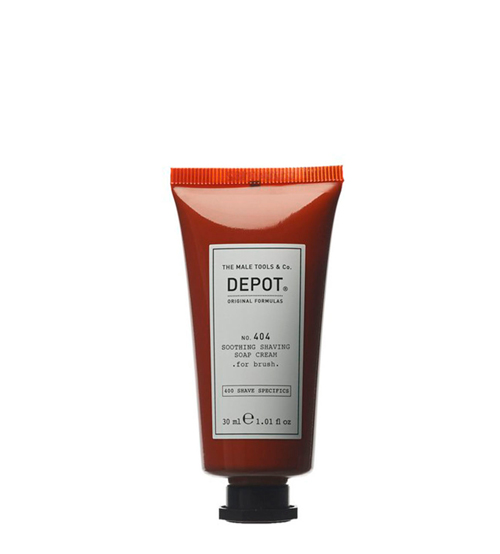 Depot Nº 404 Smoothing Shaving Soap Cream - For Brush 30ml