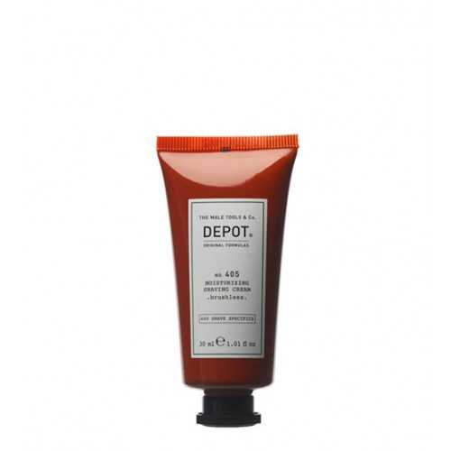 Depot Nº 405 Moisturizing Shaving Cream - Brushless 30ml